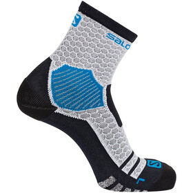 Salomon NSO Long Run Socks white/transcend blue